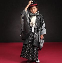 (株)安田屋 七五三 三歳 五歳 七歳祝着 羽織袴セット 被布コートセット