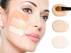 you can make your own foundation at home easily with simple home ingredients. To get a polished look make these foundation easily at home-made