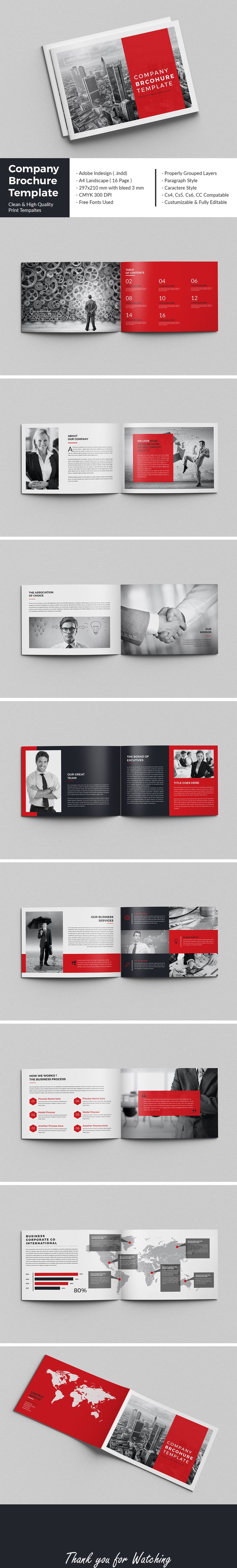 This is one of your items.Company Brochure Template - Corporate BrochuresShare Facebook Google Plus Twitter PinterestAdd to FavoritesIn CollectionCompany Brochure TemplateThis InDesign Brochure is Clean & Porfessional. Create your company's documen…