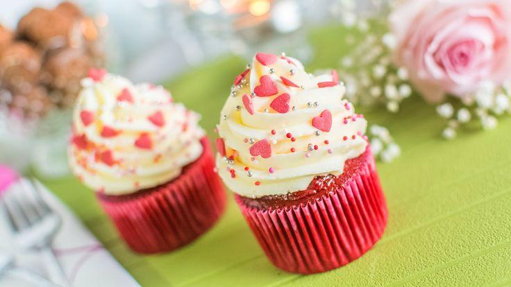 Cupcake Red Velvet - Especial San Valentín | Quiero Cupcakes!