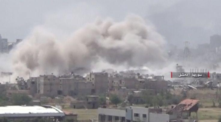 El gobierno de Damasco ha dado un importante paso adelante para consolidar su control en el área de Damasco. En los últimos días tres localidades del este de la capital han caído en poder del ejército, una acción que significa un fuerte revés para los rebeldes y que dará más seguridad a Damasco.
