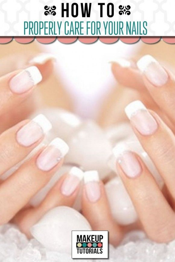 DIY Nail care tips and ideas , natural nail care routine . | http://makeuptutorials.com/makeup-tutorials-properly-care-nails/