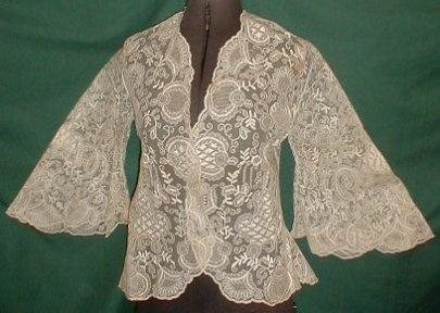 1860 boudoir jacket front