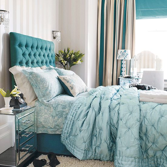 Monochrome bedding.