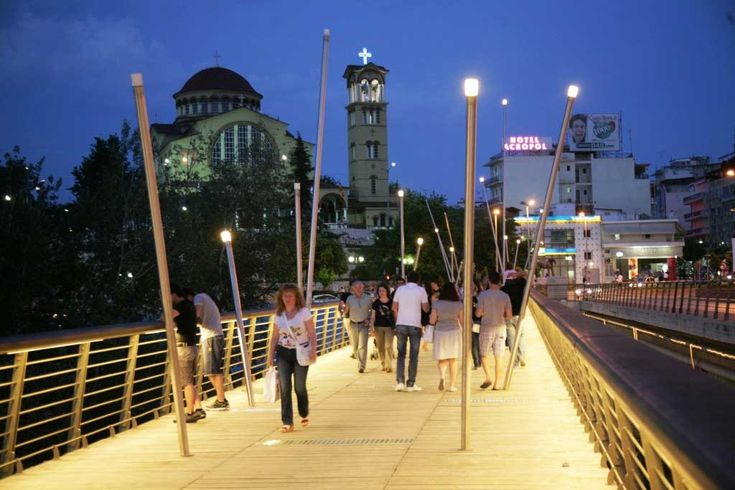 Bridge over Pineios River