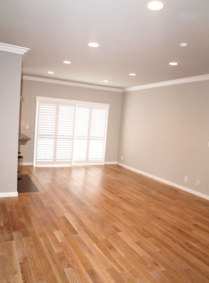 Living Room Wall Color And Floors Revere Pewter Oak