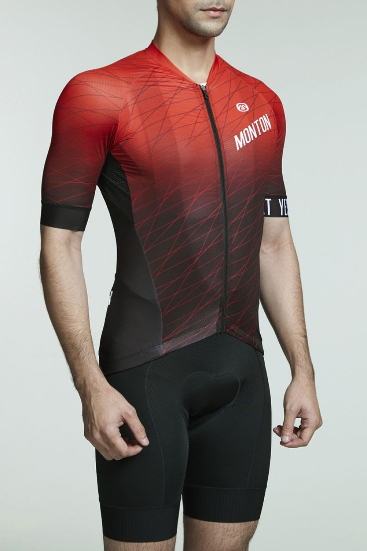 771508a36 Breathable light weight cycling clothing  quick dry road bike jersey for men .