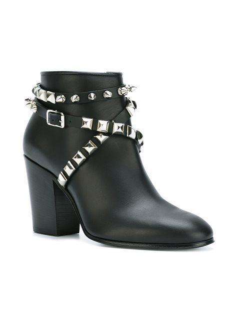 Giuseppe Zanotti Design декорированные ботинки