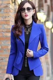 Resultado de imagem para saias executiva com blazer coreana