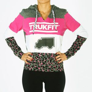 [Love this!! :( @ size availability! SML Retail $79] Trukfit Jr. Truk Cheetah Hoodie