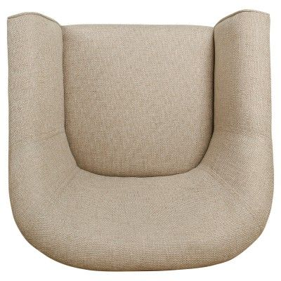 Best Modern Barrel Accent Chair Flax Brown Homepop In 2020 Modern Furniture Sets Chair 400 x 300