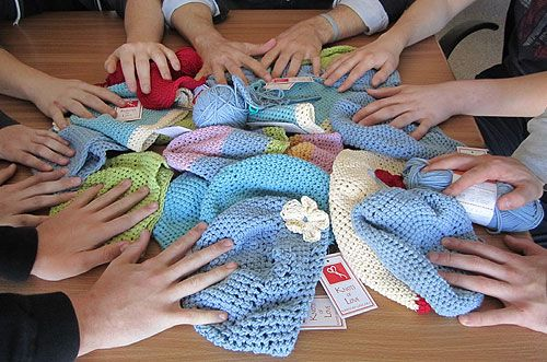 Knitting Or Crocheting For Charity : Best images about crochet for charity on pinterest