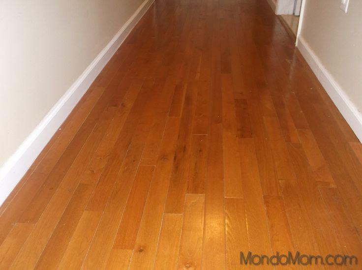 DIY homemade natural hardwood floor cleaner | MondoMom