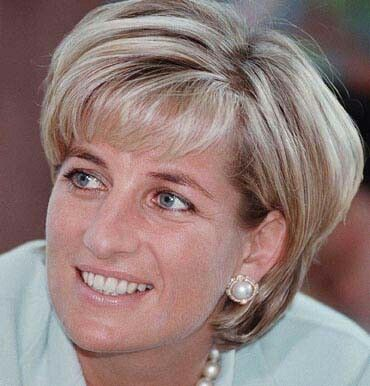 May 27, 1997: Diana, the Princess of Wales during her visit to Leicester to formally open The Richard Attenborough Centre for Disability and Arts.