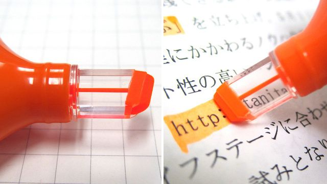 Why Did It Take So Long to Make a See-Through Highlighter Tip?