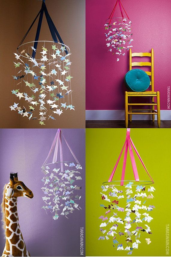 DIY baby mobile. I could make   this!