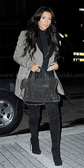 Shoes – Brian Atwood Purse – Balenciaga Shirt – American Apparel Jeans – Citizens of humanity Jacket – Jamison Grayson.