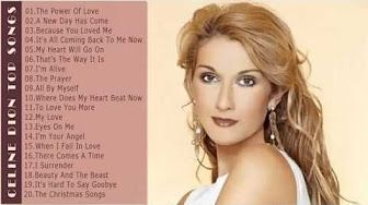 Celine Dion greatest hits - Best of Celine Dion - YouTube