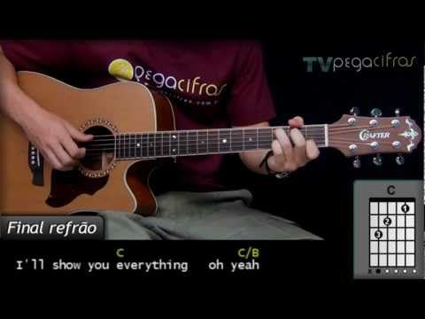 Creed - With Arms Wide Open (Acústico) - (Aula de violão) - TV Pega Cifras - YouTube