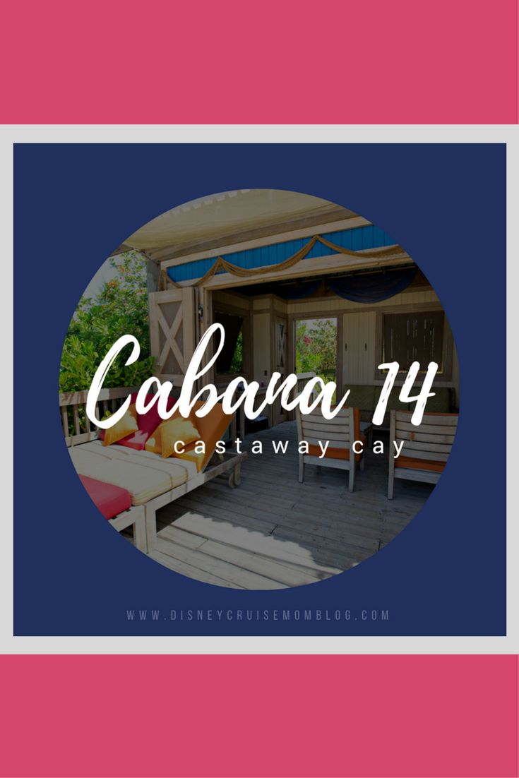 See incredible photos of cabana #14 on Castaway Cay, Disney Cruise Line's private island.
