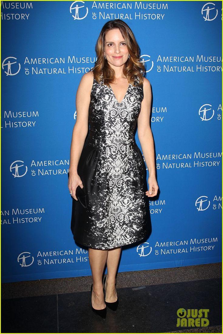 Tina Fey: Musuem of Natural History Gala 2013! |