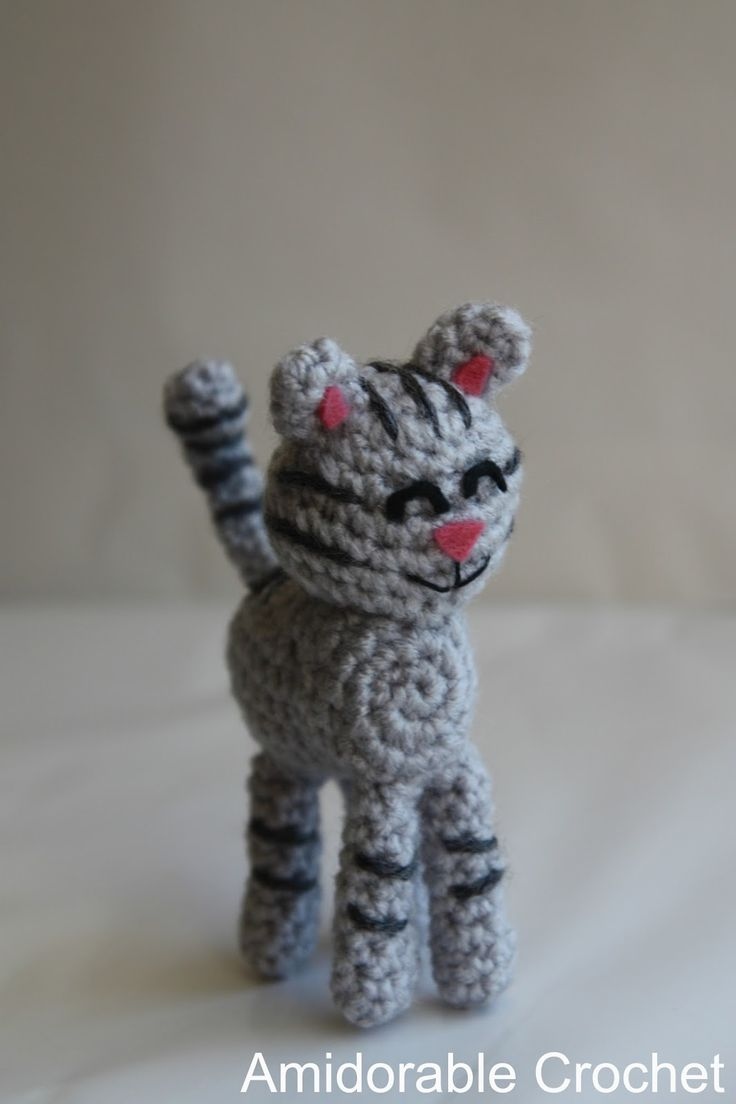 277 best amigurumi cats images on pinterest amigurumi kittens soft kitty little ball of fur very small amidorable crochet soft kitty pattern bankloansurffo Image collections