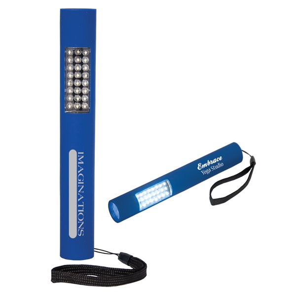 FL8413 - 28 LED FLASHLIGHT     Use for camping, in your workshop, or for emergency lighting on the road or around the home.