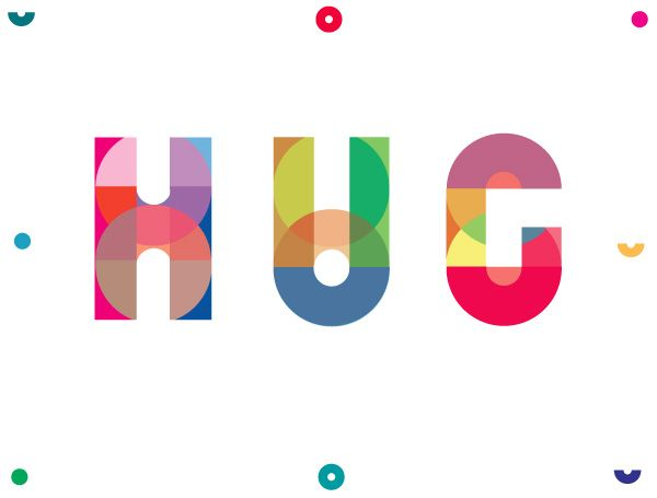 Building Letterforms - Hug Logo by Keetra Dixon