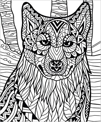 colorit wild animals coloring book premium hardcover with top spiral binding