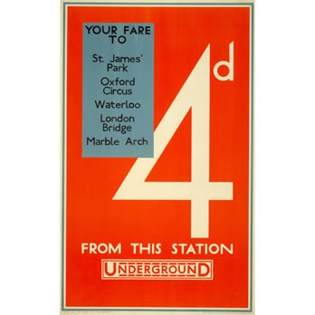 another great poster: James Of Arci, Products Posters, Finest Posters, Picture-Black Posters, St. James Parks, London Transportation, Aldo Cosomati, James D'Arcy, Cosomati 1928