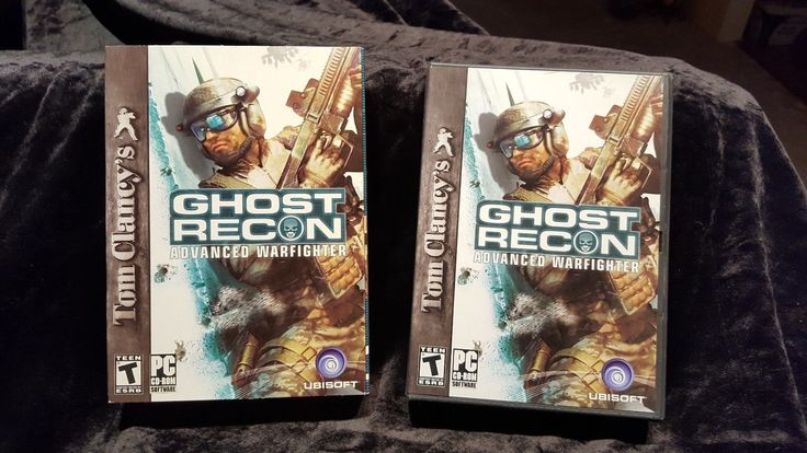 Tom Clancy's Ghost Recon Advanced Warfighter - PC CD Computer game Complete