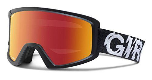 Giro Blok Snow Goggle - Black Static Frame with Amber Scarlet Lens *** Find out more about the great product at the image link.