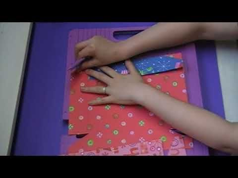 ▶ Holiday Gift Box and Bow with the Ultimate Crafter's Companion - YouTube