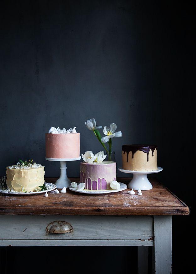 Selection of Cakes   Linda Lomelino / Call Me Cupcake // Allt om Mat