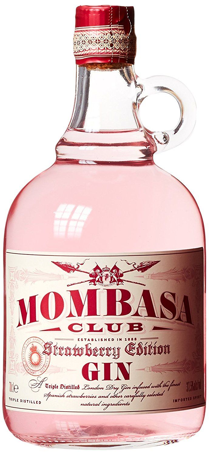 Mombasa Club Strawberry Edition Gin Spirituosen Gin Marken Getränke