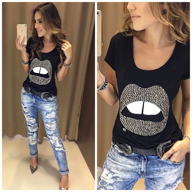 E quando o look é um escândalo de lindo?   Blusa Boca | Calça Jeans Lucia   Compras on line:  www.estacaodamodastore.com.br  Whats app: (45) 99953-3696 - Thalyta #VAREJO  Whats app: (45) 99919-9258 -Jaqueline #ATACADO ☎️SAC: (45)3541-2940 ou 3541-2195  E-mail: vendas@estacaodamodastore.com.br