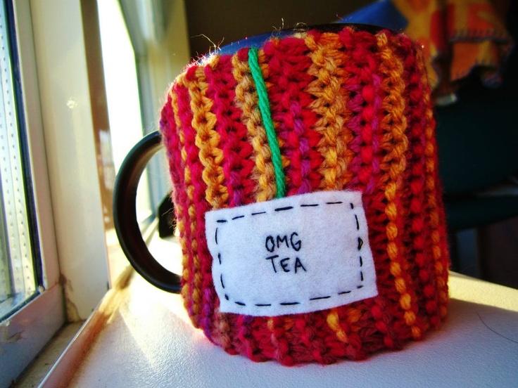 "Onana Snug Mug Cozy || ""OMG Tea"""