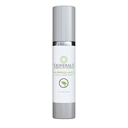 Skinerals Organic Facial Moisturizer Hydroquartz Natural Skin Hydration Face Treatment Restore Your Skins Beauty >>> Check this awesome product by going to the link at the image.