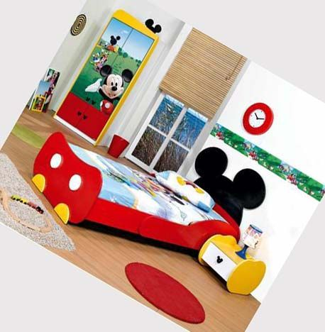 I want to do Mickey and Minnie beds for Mara and AJ.