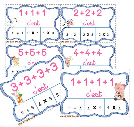 Les 25 meilleures id es de la cat gorie jeux d 39 addition for Apprendre la multiplication ce1