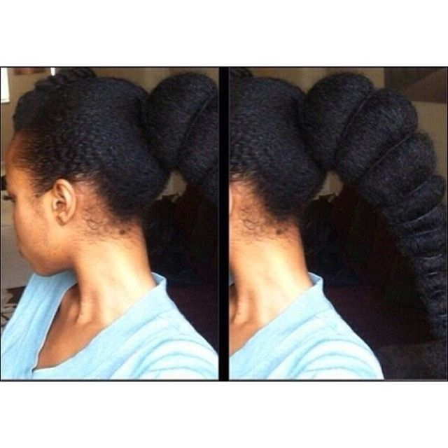 milkandhoneyhair:  Yasssssss! This right here!! Talk about hairspiration! I wonder what her washday looks like?