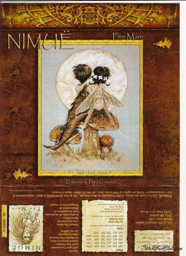 Схема вышивки крестом - Nimuё