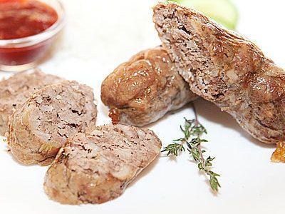 Домашние колбаски - рецепт с фото
