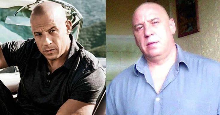 Vin Diesel Fotografia Divertimento Somiglianze Attori Attrici Cantanti Gruppi Facebook Sosia  Spettacolo Musica Pin Cartoni Film Gioco Televisione Amici