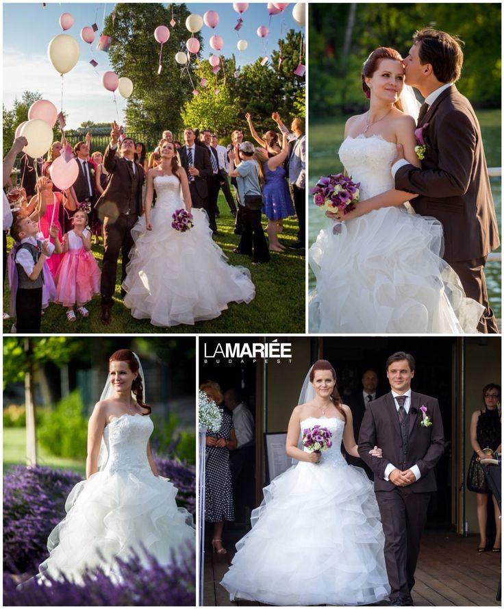 Leante esküvői ruha - 2015 Pronovias kollekció - La Mariée Budapest eskuvoi ruhaszalon - Kornélia menyasszonyunk