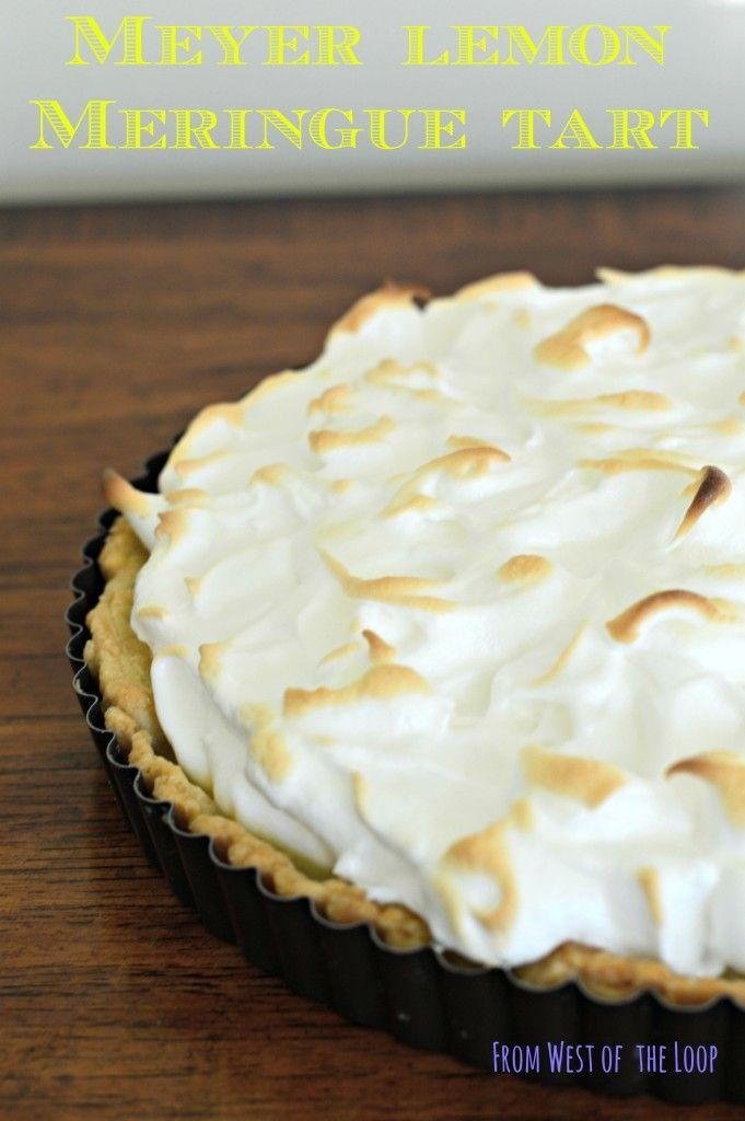 Meyer lemon meringue tart: an impressive, make-ahead dessert