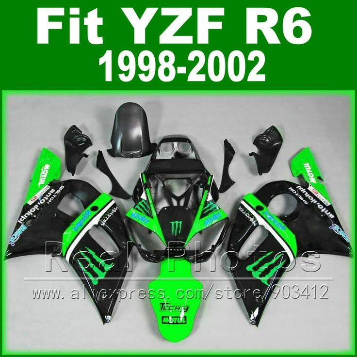 339.45$  Watch more here  - Hot sales  body kits for YAMAHA R6 fairing 1998 1999 2000 2001 2002 green and black  Fit  YZF R6 fairings 1998-2002