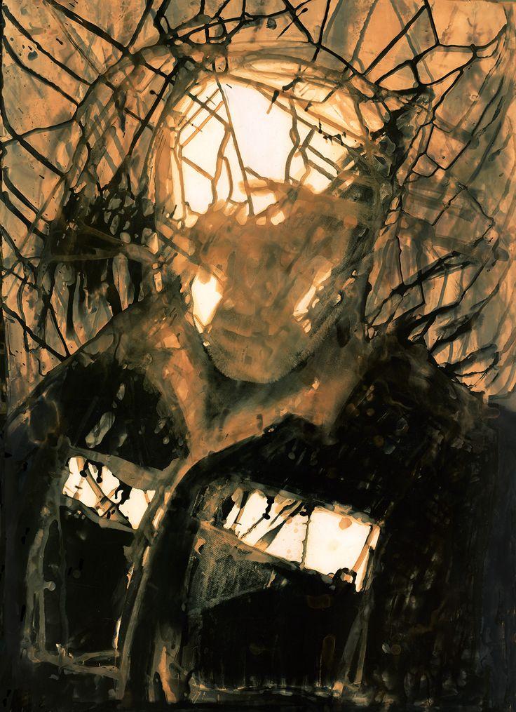 SelfPortrait,  Vladimir Brylyakov 1988