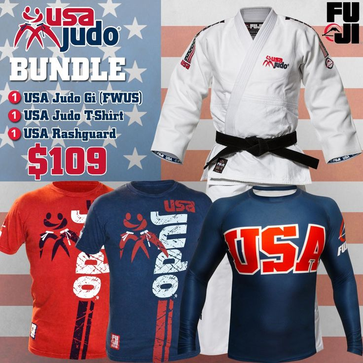 FUJI Sports USA Judo Bundle
