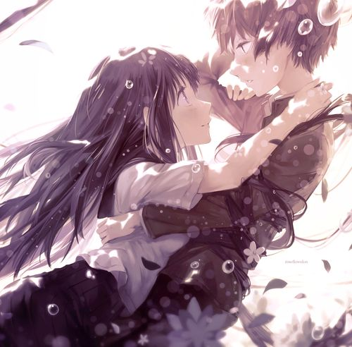 Anime Couple And Manga Image